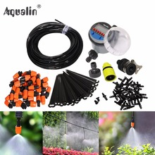 25m Automatic Micro Drip Irrigation System Garden Irrigation Spray Self Watering Kits with Adjustable Dripper #21026I(China)