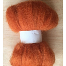 DIY handmade wool felting 50g wool fiber(China)