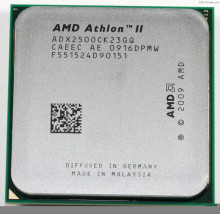 AMD Athlon II X2 250 processor 3.0GHz 2MB L2 Cache Socket AM3 Dual-Core scattered pieces cpu