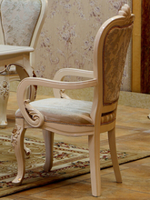 on promotion dining chair solid wood chair with fabric cover or genuine leather cover buy furniture in china