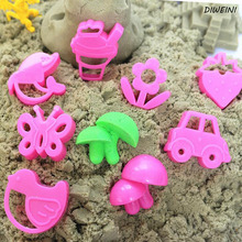 8 Pcs/set New Arrival Magic Sand Fimo Polymer Clay Light Soft Clay Mold Mars Children's Educational Toys