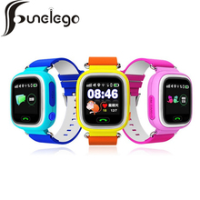 Funelego Smart GPS Watch For Children Q66 Touch WIFI Location Locator Tracker Kids Baby Safe Anti Lost Monitor Mobile Watches(China)
