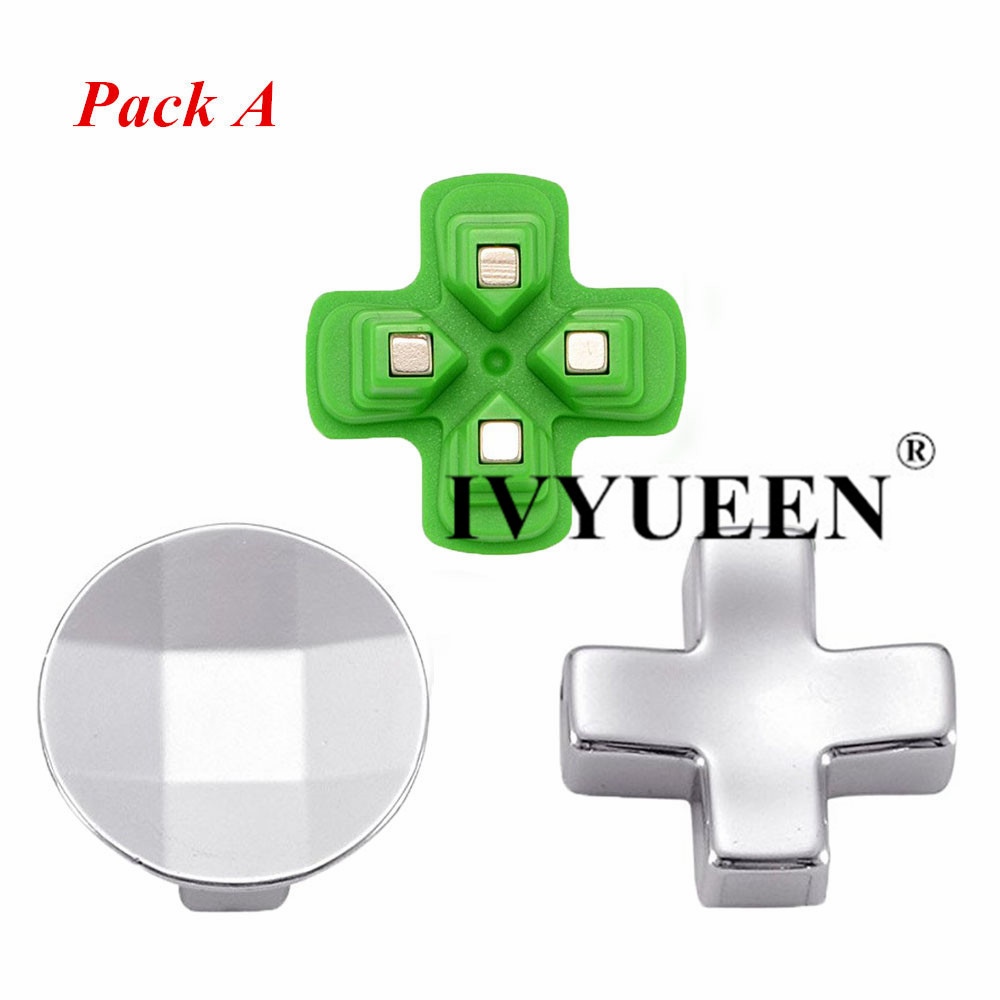 for Dualshock 4 ps4 metal buttons 11