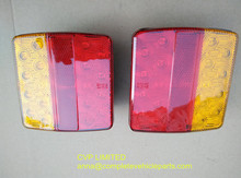 tail LED lights lamp pair boat trailer waterproof submersible 12V trailer parts(Hong Kong)