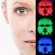 2015 Professional New Led Mask Beauty Device Blue Light Green Light And Red Therapy Effective Facial Care Personal Use(China)