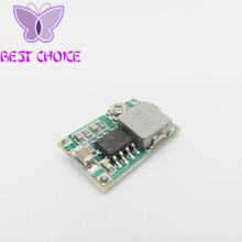 Free ahipping 10pcs Model aircraft power step-down DC DC mini-360 power supply module car power super LM2596 adjustable DC 2A(China)