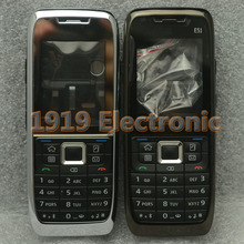 New Full Complete Mobile Phone Housing Cover Case+Enlish Or Russian Keypad For Nokia E51 + Tracking(China)