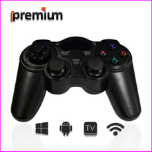 2017 Android Gamepad 2.4GHz Gamepad PC Wireless Smart Game Controller Joystick Joypad Game Remote Control For TV BOX/PS3/PC(China)