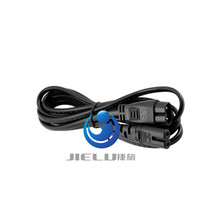 8  male to female power line 1.8M,5PCS,6ft High Quality IEC 320 C7 C8 extension cords,