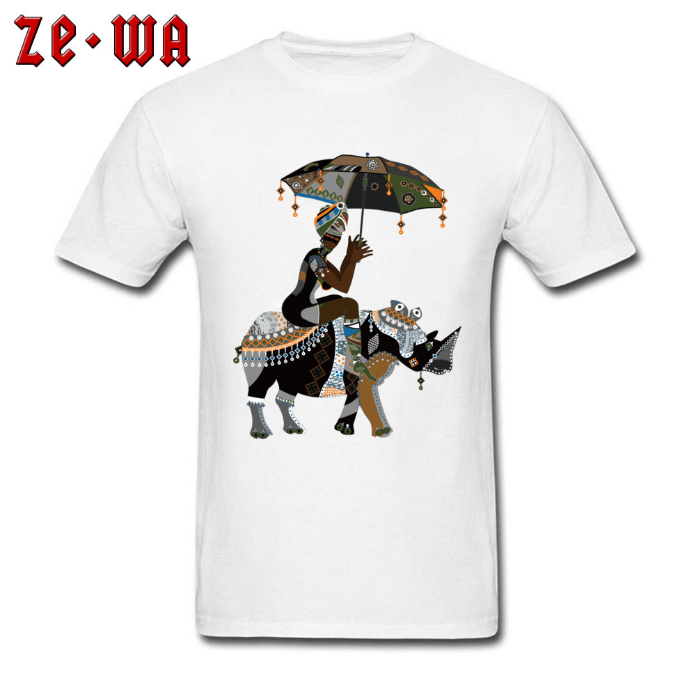 Fitted african art drawing african people T Shirts Crewneck 100% Cotton Men Tops T Shirt Short Sleeve Summer/Fall Tops Shirts african art drawing african people white