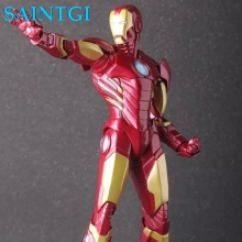 SAINTGI Ironman MARK New Avengers Stark Tonny Marvel Figures PVC 23cm Hot Magic Animation Collection Model Globos