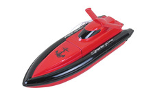 New radio control RC mini speed boat / remote control boat / 20 km / h lithium battery electric remote control boat dual motor(China)