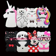 For Samsung Galaxy S3 i9300 Cute 3D Silicon Unicorn Cat Lip Cartoon Soft Mobile Phone Protective Back Case Cover(China)