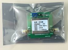 20DB 50MHz to 6000mhz UHF 2.4G Broadband Low Noise Amplifier RF LNA Amp Module VHF HF