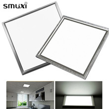 Smuxi Ceiling Light Ultrathin 8W 12W AC220 LED Square Panel Lights 300X300mm Integrated Embedded for Home Kitchen Bars Office(China)