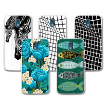 Hot Sale Lovely Painting Case For HTC Desire 526 526G 526G+ 326 326G , Colorful funda Skin Back Cover For HTC 526 + Free Pen