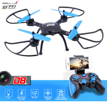 RC Quadcopter RC Drone with Camera hd FPV WiFi Remote Control Helicopter Toy 2.4G Altitude Hold ALT Photo Video Dwi Dowellin D8(China)