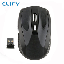 Cliry Best Seller 2.4G Wireless Optical Mouse computer mice for Laptop Desktop Factory Wholesale Price 10pcs/lot(China)