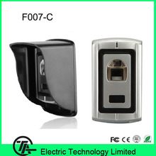 Standalone fingerprint access control with rain cover fingerprint door lock system F007-C with RFID card reader