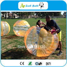 Free Shipping Colorful 1.5m TPU Inflatable Bubble Soccer Zorb Ball Toys,Inflatable Sports Game Bubble Football,Crazy Loopy Ball(China)