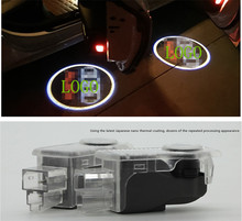 LED Door Warning Light With audi Logo Projector For Audi A5 A6L A6 C5 A4L A4 B6 B8 A1 A8 TT Q7 Q5 Q3 A3 R8 RS S line