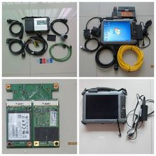 MB Star C5 Icom a2 for bmw diagnostic tool + 2in1 ssd mb sd c5 and icom a2 software expert mode + Xplore IX104 c5 Tablet i7&4g