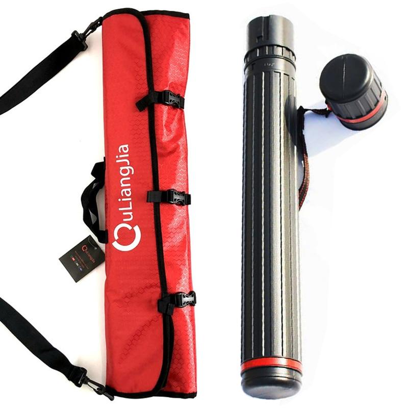 Telescopic Arrow Holder Arrow Tube Hunting Bag Separator Quiver For 20pcs NEW
