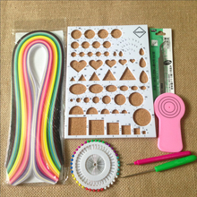 Wholesale Quilling Kits Collection With 240pcs Paper Strips,Work Board,Slotted Pen,Pins, Mould, Tweezer, Rolling Paper Crafts
