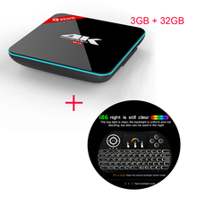 Q Plus Amlogic S912 Android 6.0 TV BOX 3G/32G Octa Core Q-PLUS Smart Set Top Box Media Player + Free i86 multi color keybord