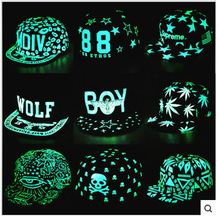 2016 New women hip hop cap male snapback baseball cap female hat ladies noctilucent rap chapeau men brim straight gorras sale(China)