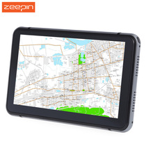 7 inch Touch Screen Car GPS Navigation Player Windows CE 6.0 Truck Vehicle GPS Navigator pre-loaded map 800x480 Resolution Hi-Fi(China)