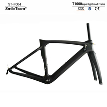 Buy SmileTeam 2018 New XR4 Bicycle Frame T1000 Carbon Road Bike Frame Ultralight Carbon Racing Bicycle Frameset Fork Seatpost for $448.20 in AliExpress store