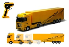 Detachable RC truck 1:32  2.4G  RC  Container truck engineering cartage vehicle toy  container separated for kids gift