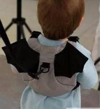Free shipping  Baby Kid Keeper Toddler Walking Safety Harness Backpack Bag Strap Rein Bat