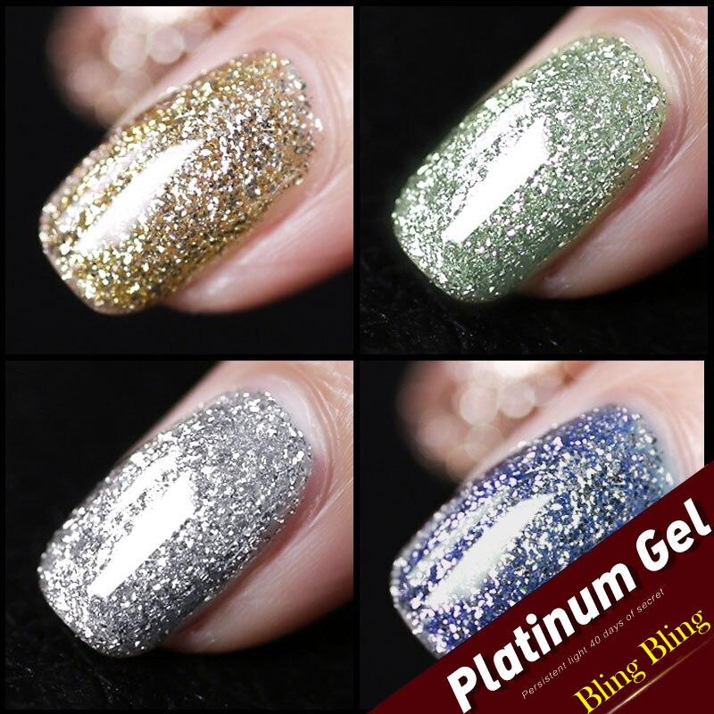glitter platinum gel  4