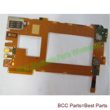 2pcs/Lot For Nokia lumia 920 Mainboard Flex  Ribbon Cable with front small camera microphone sim card reader 100% Original