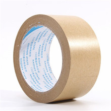 5pcs*30Meter Painting -used water-soluble tape wet water kraft paper adhesive tape Masking  kraft paper Tape
