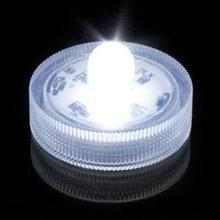 36pcs LED Tea Lights Waterproof Submersible Battery Operated Flameless Candle Lamps Party Wedding Decor (White Light)