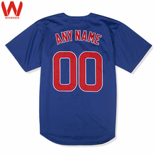 Custom Made Men/Women/Youth High Quality Embroidered Logos&Name&Number Baseball Jerseys(China)