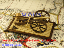 2014 NEW wooded scale models scale weapons napoleon period Field guns series  NAPOLEON CANNON+SMALL  PLATFORM scale wooden toys