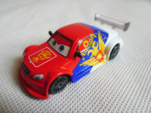 TT03-- Pixar Car Movie 1:55 Metal Diecast Russian Racer Vitaly Petrov Toy Cars New Loose