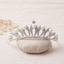 Sparkly Royal Crown Princess Tiara for Bridal Wedding Hair Accessories
