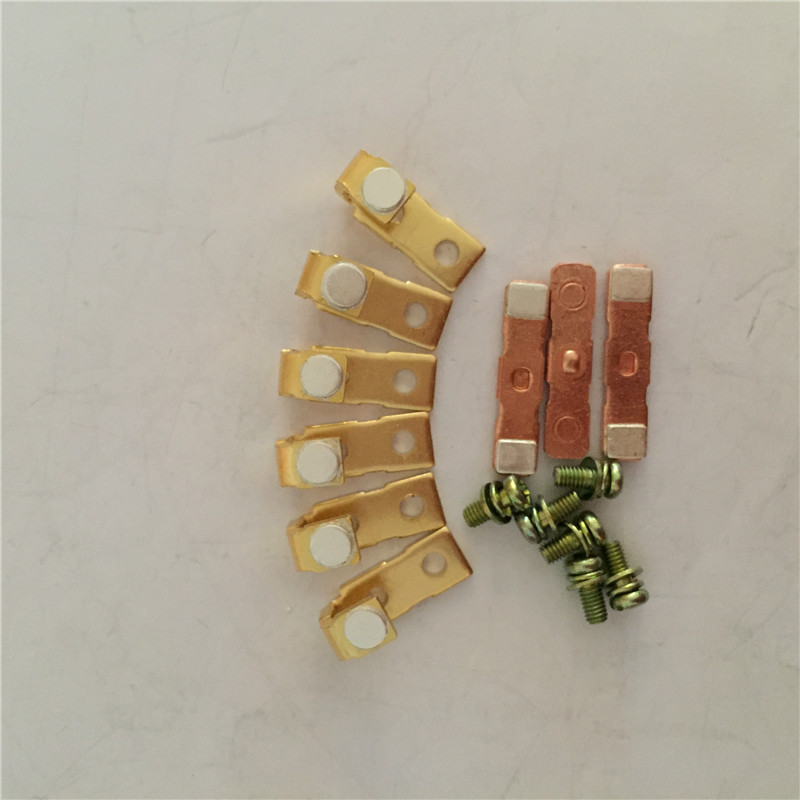 Original new 100% 3TF- 44 CJX1-38  AC contactor  Replacement Kits contact 3 moving 6 static national standard<br>