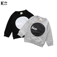RW-112 Kids Boys Clothing Girls Tops Full Sleeve Children Girls Cotton Boys Casual Clothing Child T-shirt For Boys Kids Tops Tee