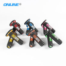 "Rubber Gel Dual Density MX Grips Handlebar 7/8"" Protaper Grips Fit Motorcycle Motocross ATV Dirt Pit Bike CRF KTM YZF RMZ KLX"
