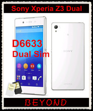 "Sony Xperia Z3 Dual D6633 Original Unlocked GSM 3G&4G Android Quad-Core 3GB RAM 5.2"" 20.7MP WIFI GPS 16GB Dropshipping"
