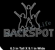 Free Shipping  Rhinestone Transfer Template Pattern Cheerleading Bling - Backspot - Rhinestone Transfer