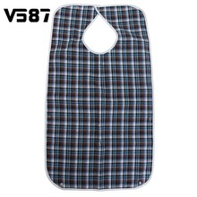 Apron Kitchen Bib Waterproof Large Adult Mealtime Clothes Protector Dining Cook Ajustable Delantal Clothing Disability Aid Apron