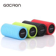 GACIRON Bicycle Bluetooth MP3 Player Audio Subwoofer Mini Portable Outdoor Sports Cycling Speaker MTB Bike Accessories 4 Colors