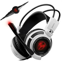 Original Somic G941 Professional Gaming Headset, USB Gaming Headset vibration computer headsets sound card 7.1 Surround Sound